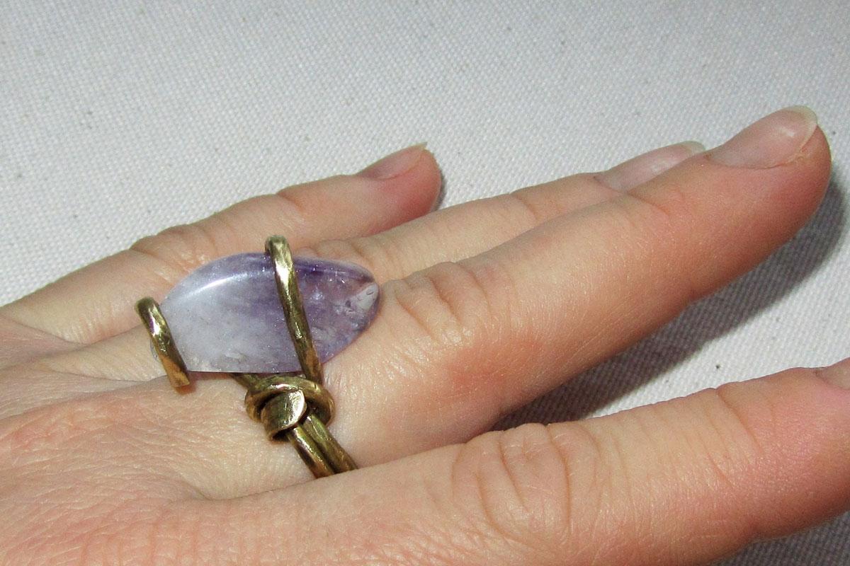 Латунь кольцо своими руками 89